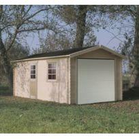 Dedans Dehors - Abri de jardin en PVC - 6,65 m²