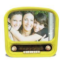 Totalcadeau - Cadre photo radio vintage colorée