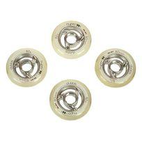 Hyper - Roues de roller Dubbs 80mm/82a Blanc 10054