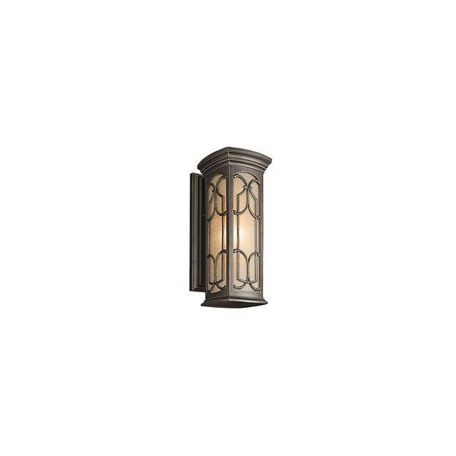 Elstead Lighting Applique Franceasi H 45,7cm 1x100W bronze foncé
