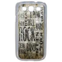Lapinette - Coque Rigide Rock And Punk Pour Samsung Galaxy S3