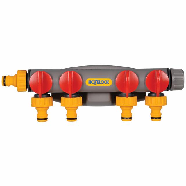 Hozelock Raccord de robinet à 4 voies 2150R0000