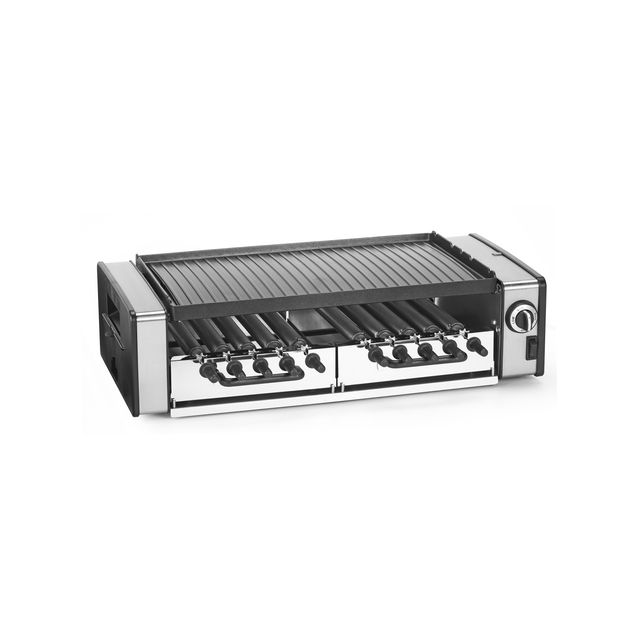 Tristar grill multifonctions et brochettes rotatives ra - Grill vertical pour kebab et brochettes ...