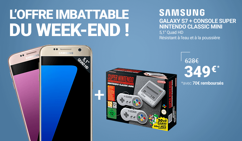 L'OFFRE IMBATTABLE DU WEEK-END !