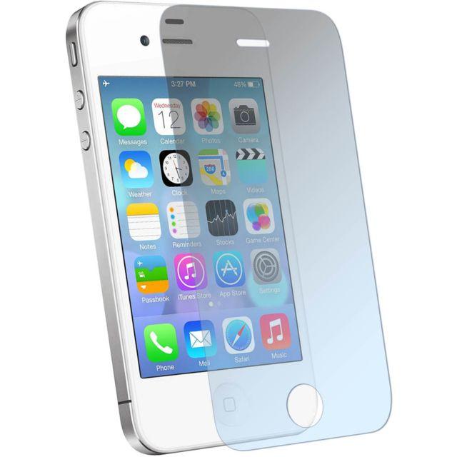 Avizar - Verre trempé pour protection écran du Apple iPhone 4 et 4s