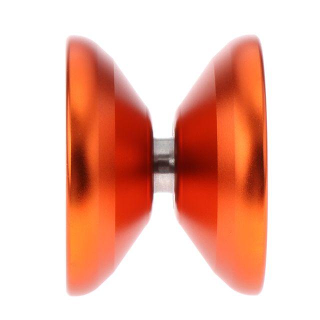Cool éclairage Métal Led Yo-yo Professionnel Tour De Magie Enfants Cadeau Cadeau Orange