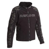 Bering - blouson moto sport Jaap Evo textile homme mi saison été noir camouflage Btb479 4XL