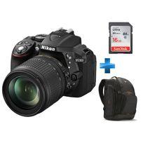 NIKON - Pack Expert -D5300-18-105VR + Sac à dos + Carte SD 16GO