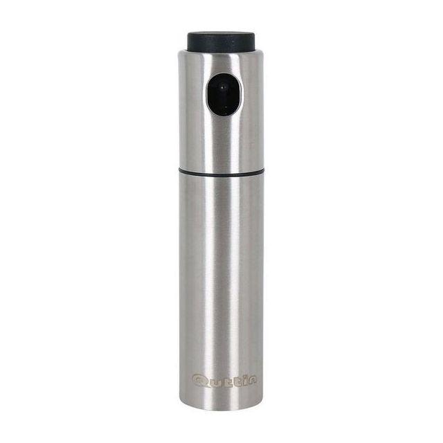Totalcadeau Spray à huile ou à vinaigre en acier inoxydable 4 x 17,7 x 4 cm