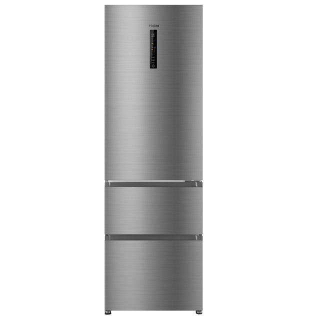 HAIER Réfrigérateur congélateur 3D - AFE635CHJ - Silver
