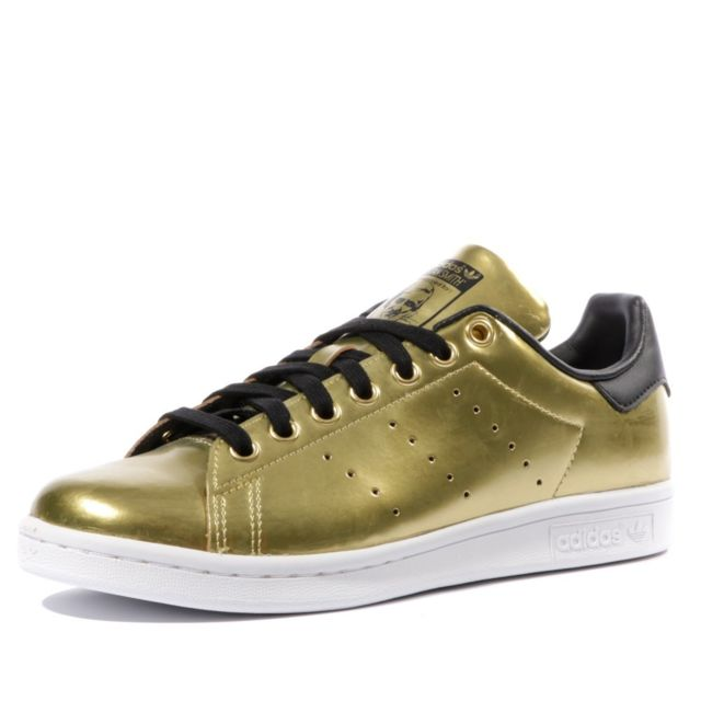 Adidas - Stan Smith Femme Chaussures Or Multicouleur 36 2/3 ...