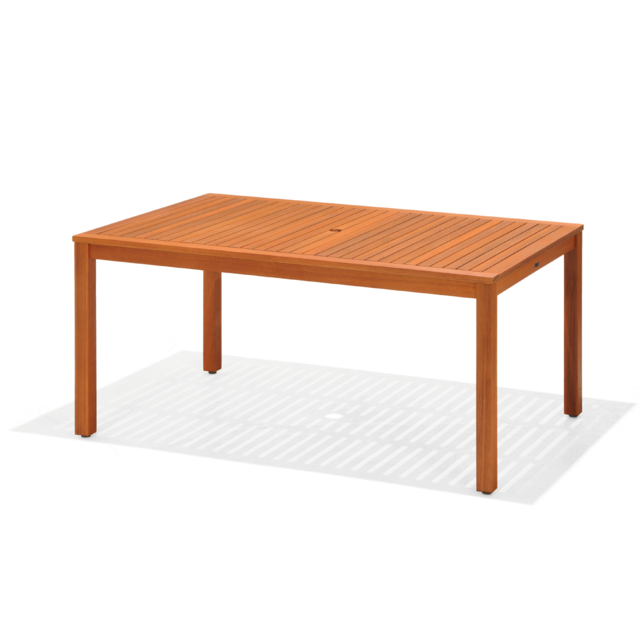 Chillvert Table Bois Eucalyptus Ibis 160 x 100 x 75 cm