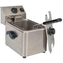 KitchenChef - kitchen chef - friteuse pro inox 4l 2500w - hdf4