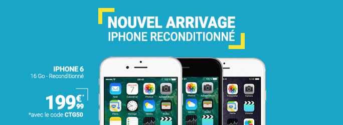 Iphone 6 reconditionne