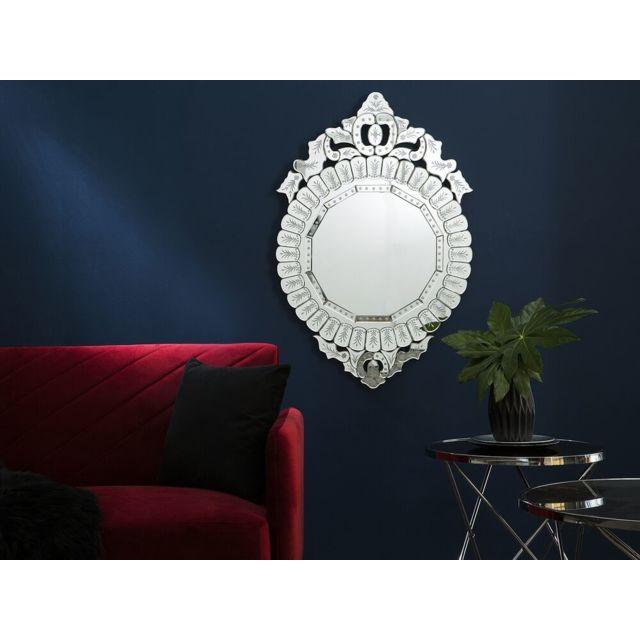 BELIANI Miroir argenté CRAON - argent
