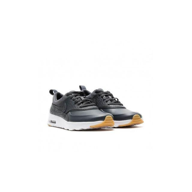 promo code db044 d385f Nike - Air Max Thea Prm - 616723-015 - Age - Adulte, Couleur - Gris, Genre  - Femme, Taille - 36 - pas cher Achat   Vente Chaussures basket -  RueDuCommerce