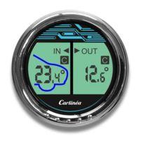 Carlinea - Thermometre intérieur/extérieur