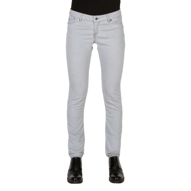 33281d2426c6 Buzzao - Jean coupe slim fit taille basse shaping gris Femme - Carrera Jeans