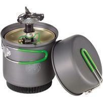 Optimus - Crux Weekend He - Réchaud à gaz - gris/vert