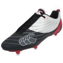 Canterbury - Chaussures rugby Speed club 6 stud Noir 37749
