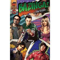 Pyramid - The Big Bang Theory Poster Comic Bazinga 61 x 91 cm