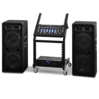 ELECTRONIC STAR - Set DJ PA Rack Star Series Mars Flash 400 Personnes