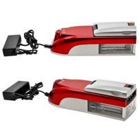Champ - Tubeuse electrique machine à rouler Pro Triple rouge