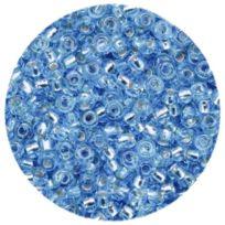 Efco - Perles De Rocailles Reflets ArgentÉS Diam. 2,6 Mm En Boite, 17 G