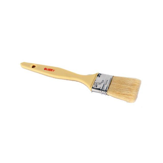 Guery Pinceau plat soie manche plastique 2.5 cm