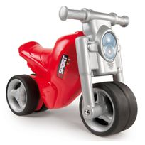 SMOBY - Porteur moto rouge - 770119