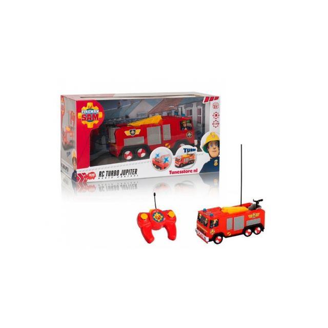 Dickie Toys Slp Sam le pompier Rc Jupiter 1/24