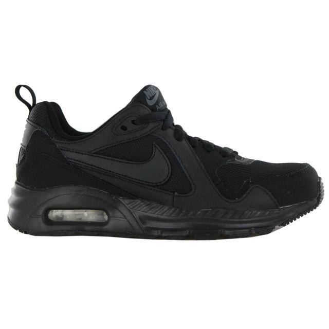 reputable site 0fd8f e8252 Nike - Basket Air Max Trax GS, Noir 644453-009-38.5 - pas cher Achat    Vente Baskets enfant - RueDuCommerce