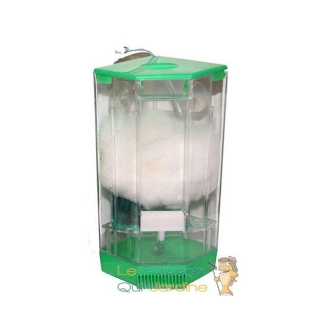 Aqua Occaz Filtre de coin Jumbo sur pompe à air pour aquariums