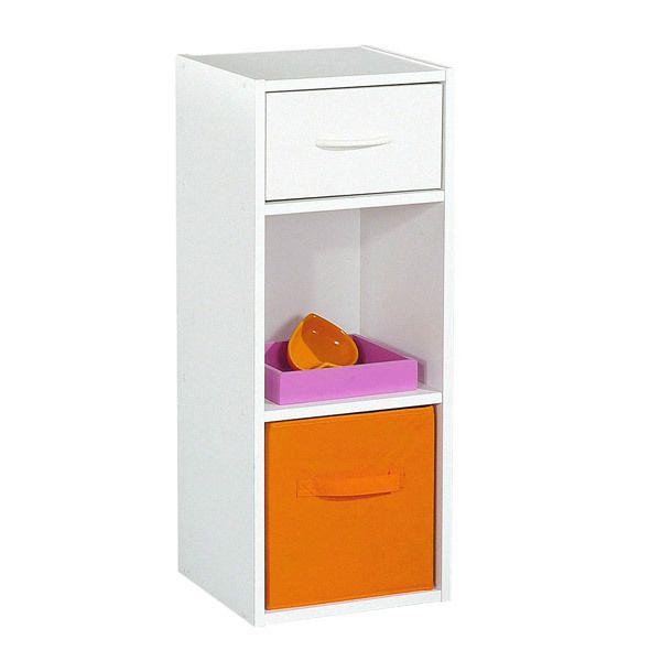 alsapan etag re colonne en bois h80cm l31cm avec tiroir. Black Bedroom Furniture Sets. Home Design Ideas