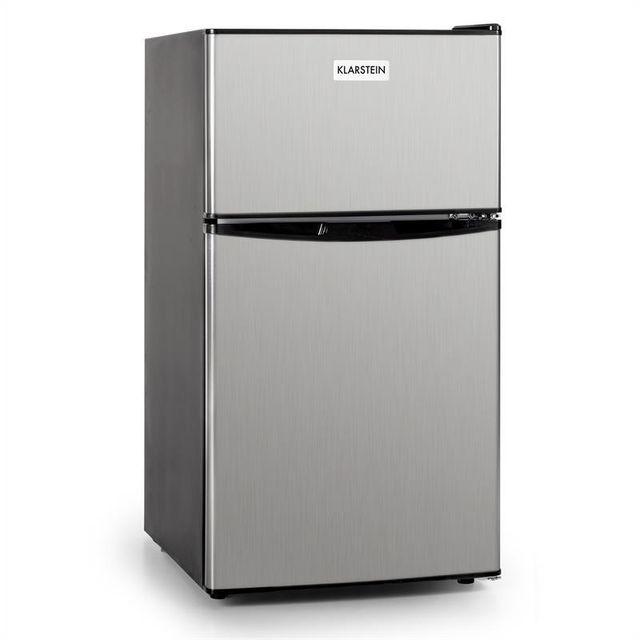 KLARSTEIN Big Daddy Cool frigo 85L classe A+ acier noir