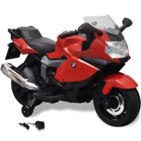 Rocambolesk - Superbe Moto électrique Bmw 283 rouge 6 V pour enfant neuf