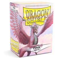 Dragon Shield - Dés et Accessoires - Deck Box 100 Deck Protectors Matte Rose