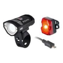 Sigma - Pack éclairage avant Buster 200 + éclairage arrière Nuggets