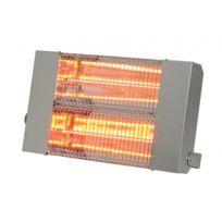SOVELOR - Chauffage radiant infrarouge électrique IPX5 halogènes à quartz. Inox - IRC3000CI