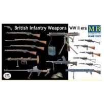 Master Box - Accessoires militaires 2ème Guerre mondiale : Set armement britannique