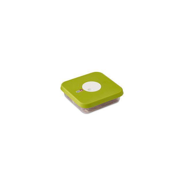 Joseph Joseph Boîte De Conservation Empilable Avec Cadran Dateur Dial - Carrée 0.9 Litre 17 X 17 X H 5 Cm