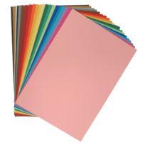- papier dessin a grain 160g 50x65 pastel - paquet de 24