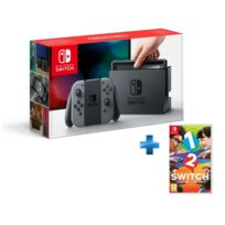 NINTENDO - Console Switch avec une paire de Joy-Con Gris + 1-2-Switch