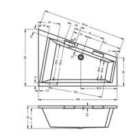 baignoire angle 130x130 achat baignoire angle 130x130. Black Bedroom Furniture Sets. Home Design Ideas