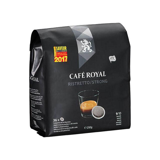 CafÉ Royal Dosettes souples de café Ristretto - Sachet de 36