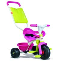 SMOBY - Tricycle Be Fun Confort - Rose - 740406