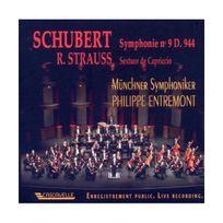 Cascavelle - Schubert - Strauss : Symphonie n 9 ``La Grande`` - Sextuor de Cappriccio