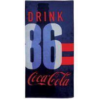 Coca Cola - Drap de plage Sport 100% coton 360 g/m² 70x120cm