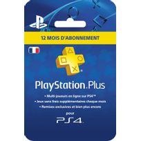 SONY - Carte Playstation Plus - Abonnement 12 mois