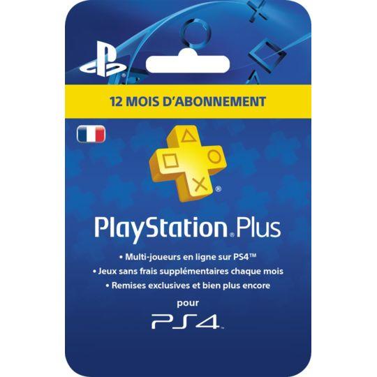 Carrefour Carte Abonnement Ps4.Carte Playstation Plus Abonnement 12 Mois A Prix Carrefour